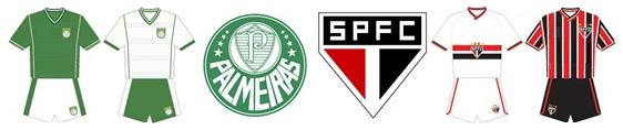 Clássico Palmeiras x São Paulo
